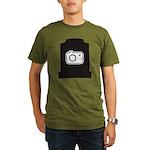 Headstone Photographer Organic Men's T-Shirt (dark