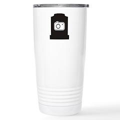 Headstone Photographer Stainless Steel Travel Mug