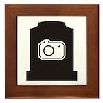 Headstone Photographer Framed Tile