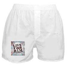 Live for Jesus Boxer Shorts