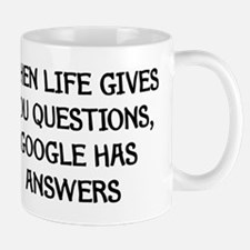 """Google Has Answers"" Small Small Mug"