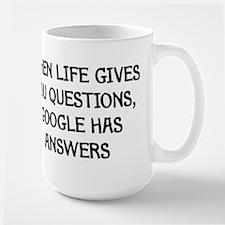 """Google Has Answers"" Mug"