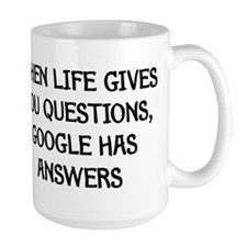 """Google Has Answers"" Mug"