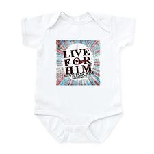 Live for Jesus Infant Bodysuit