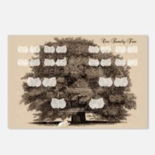 Family Tree 1 Acorn Postcards (Package of 8)