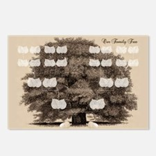 Family Tree 2 Acorns Postcards (Package of 8)