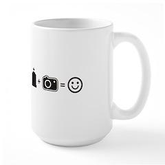Headstone Happy Large Mug