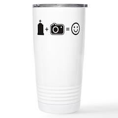 Headstone Happy Travel Mug