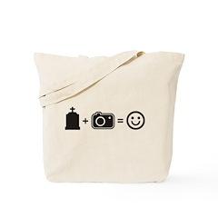 Headstone Happy Tote Bag
