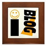 Blog Happy Framed Tile