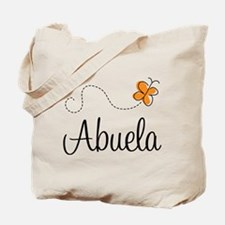 Abuela Butterfly Tote Bag