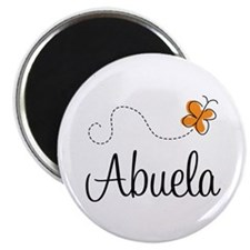 Abuela Butterfly Magnet