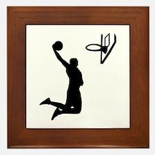 Basketball Framed Tile