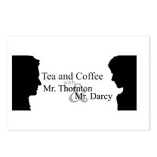 Coffe and Tea Postcards (Package of 8)