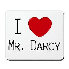 I :heart: Mr. Darcy Mousepad