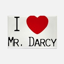 I :heart: Mr. Darcy Rectangle Magnet