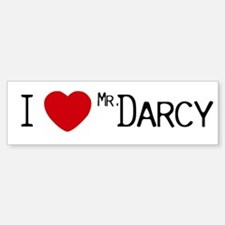 I :heart: Mr. Darcy Bumper Bumper Bumper Sticker