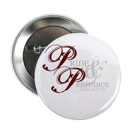 """Pride and Prejudice 2.25"""" Button"""