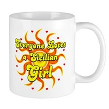 Everyone loves a sicilian girl Mug