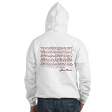 Pride and Prejudice (With Quote) Hoodie