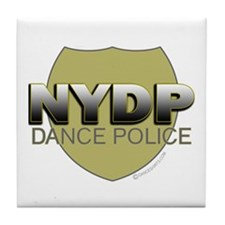 NYDP New York Dance Police Tile Coaster
