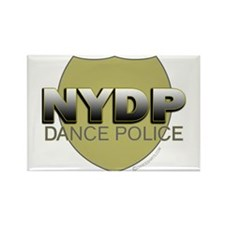 NYDP New York Dance Police Rectangle Magnet