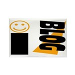 Blog Happy Rectangle Magnet (100 pack)