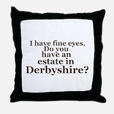Fine Eyes Throw Pillow