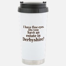 Fine Eyes Stainless Steel Travel Mug