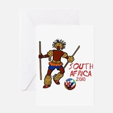 South Africa 2010 Greeting Card