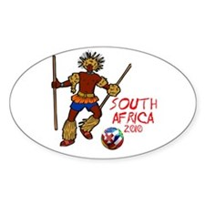 South Africa 2010 Oval Decal