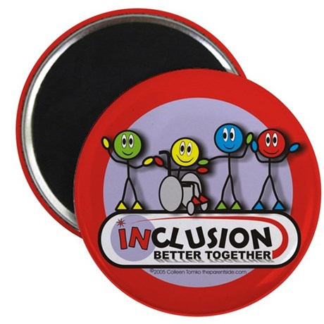Inclusion Better Together Magnet