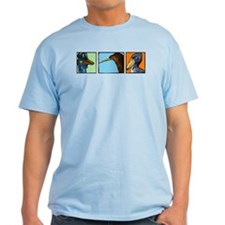Three Weird Birds T-Shirt