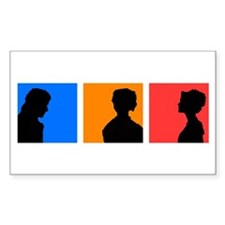 iPride and Prejudice Rectangle Decal