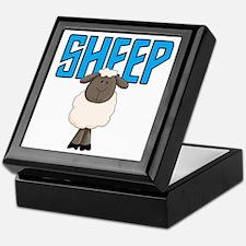 Sheep Animal Keepsake Box