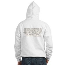 North & South (With Quote) Hoodie