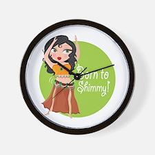 Born to Shimmy! Wall Clock