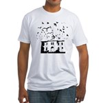 the birds Fitted T-Shirt