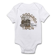 Choo Choo Train Infant Bodysuit