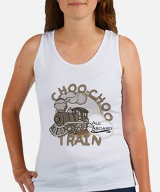Choo Choo Train Women's Tank Top