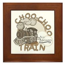 Choo Choo Train Framed Tile