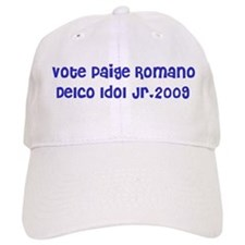 Vote Paige Romano Delco Idol Jr.2009 Baseball Cap