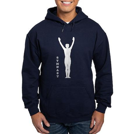 Male Gymnast Hoodie (dark)