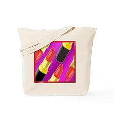 Lipstick helps Tote Bag