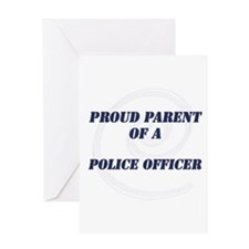 Cute Law enforcement graduation Greeting Card