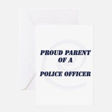 Cute Police officer Greeting Card