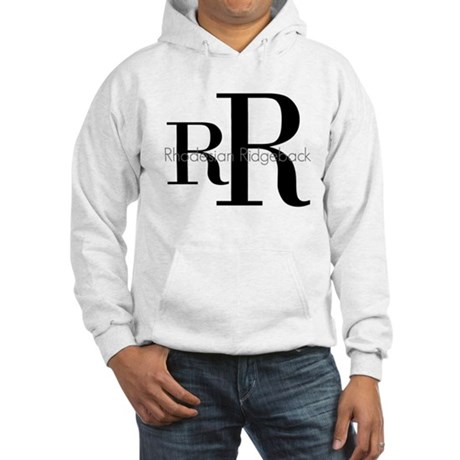 Rhodesian Ridgeback Logo Hooded Sweatshirt