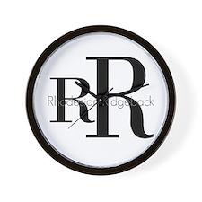 Rhodesian Ridgeback Logo Wall Clock