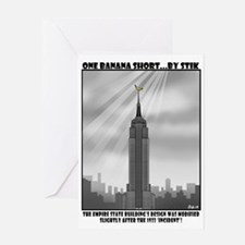 Empire State Building modificationsGreeting Card