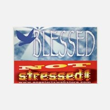 Blessed NOT Stressed Magnet
